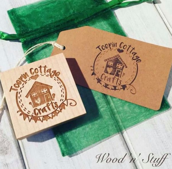 Personalised Logo Rubber Stamp