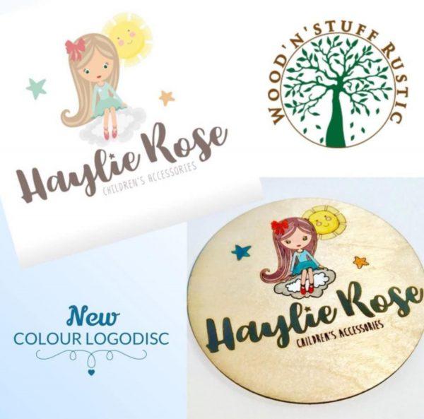 Coloured Logo Disk