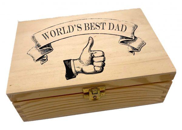 World's Best Dad box