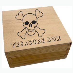 Dad's Skull and Crossbones Box